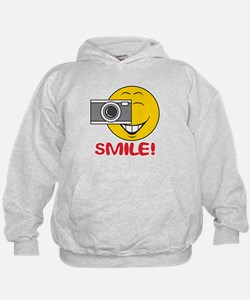 Photographer Smiley Face Hoodie