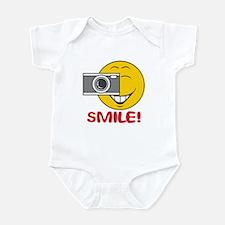 Photographer Smiley Face Infant Bodysuit