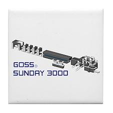 Tile Coaster-GOSS SUNDAY 3000