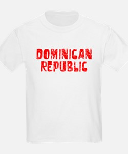 Dominican Re.. Faded (Red) T-Shirt