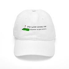 Golf - My Wife Loves Me Baseball Cap