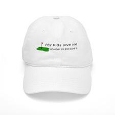 Golf - My Kids Love Me Baseball Cap