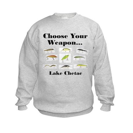 Choose your Weapon Kids Sweatshirt
