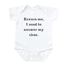 Excuse me Infant Bodysuit