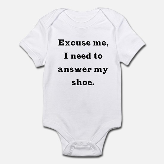 Excuse me Infant Bodysuit