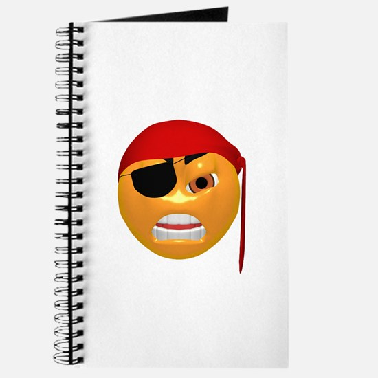 Mean Pirate Face Journal