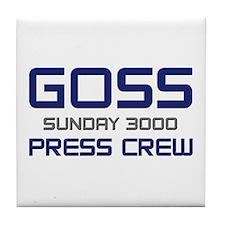 Tile Coaster-GOSS-SUNDAY 3000 PRESS CREW