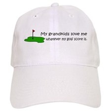 Golf - My Grandkids Love Me Baseball Cap