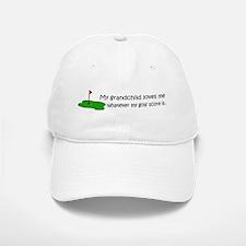 Golf - My Grandchild Loves Me Baseball Baseball Cap