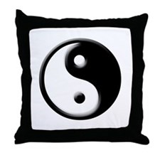 Jing Jang Throw Pillow