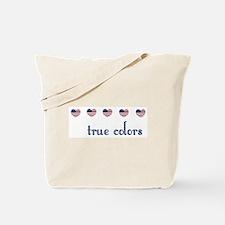 True Colors/Hearts Tote Bag