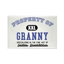 Property of Granny Rectangle Magnet (10 pack)