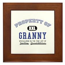 Property of Granny Framed Tile