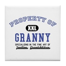 Property of Granny Tile Coaster