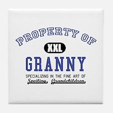 Property of Granny Tile Coaster