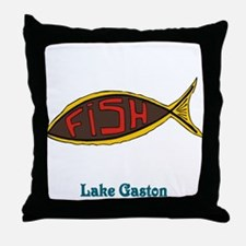 Fish in Fish Throw Pillow