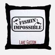 Fishin Impossible Throw Pillow