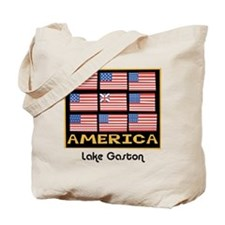 9 Flags Tote Bag