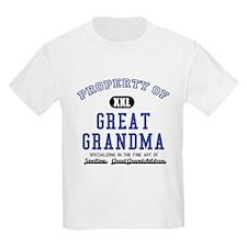 Property of Great Grandma T-Shirt