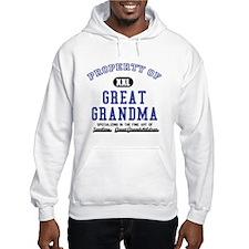 Property of Great Grandma Hoodie