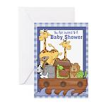 Noah's Ark Baby Shower Invitations (Pk of 20)
