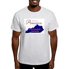 Fort Campbell Ash Grey T-Shirt