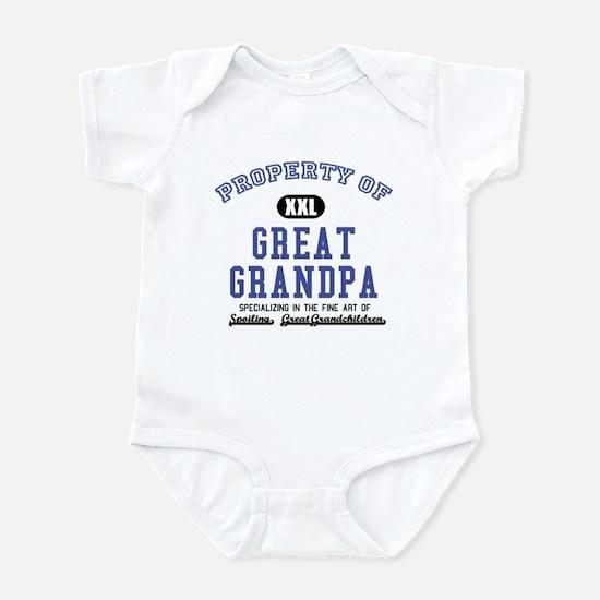 Property of Great Grandpa Infant Bodysuit