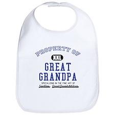 Property of Great Grandpa Bib