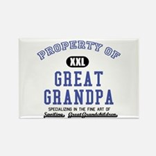 Property of Great Grandpa Rectangle Magnet
