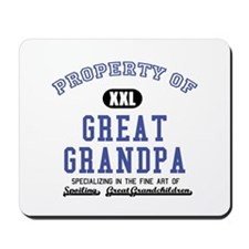 Property of Great Grandpa Mousepad
