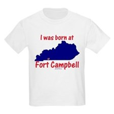 Born at Fort Campbell Kids T-Shirt