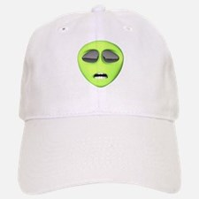 Scared Alien Face Baseball Baseball Cap