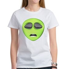 Scared Alien Face Tee