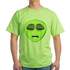 Scared Alien Face T-Shirt