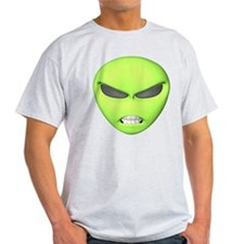 Mean Alien Face T-Shirt