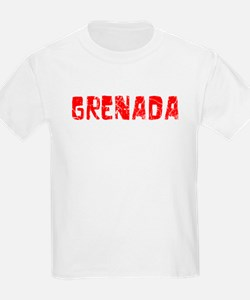 Grenada Faded (Red) T-Shirt