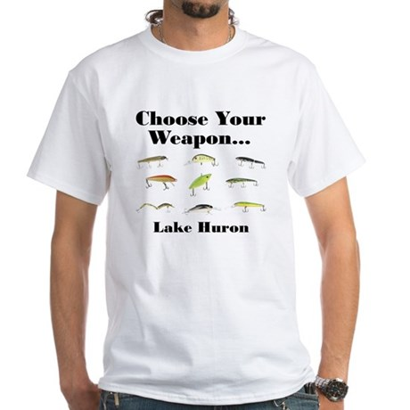 Choose your Weapon White T-Shirt