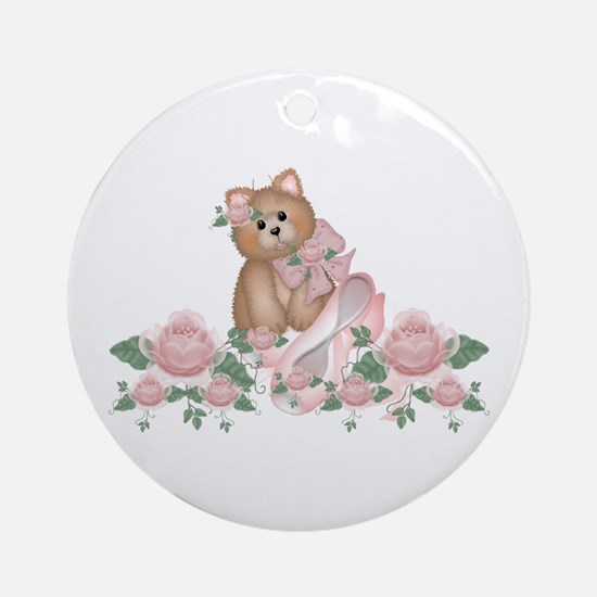 Everything's Rosy Kitty Cat Keepsake (Round)