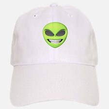 Cheesy Smile Alien Face Baseball Baseball Cap