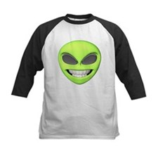 Cheesy Smile Alien Face Tee