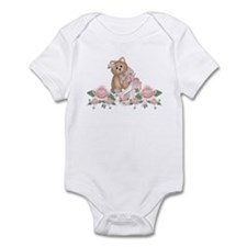 Everything's Rosy Kitty Cat Infant Creeper