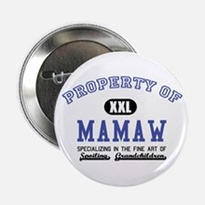 "Property of Mamaw 2.25"" Button"