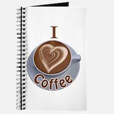 I Heart Coffee Journal