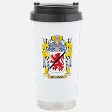 Hylands Coat of Arms - Stainless Steel Travel Mug