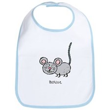 Happy Mouse Bib