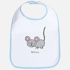 Happy Mouse Bib