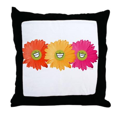 Smilie Gerber Daisy Throw Pillow