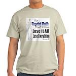 Diet Plan Ash Grey T-Shirt