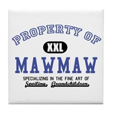 Property of MawMaw Tile Coaster