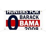 Hunters for Barack Obama Banner